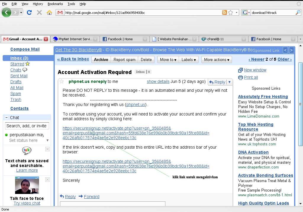 Menginstal Senayan Di Free Webhosting Phpnet.Us