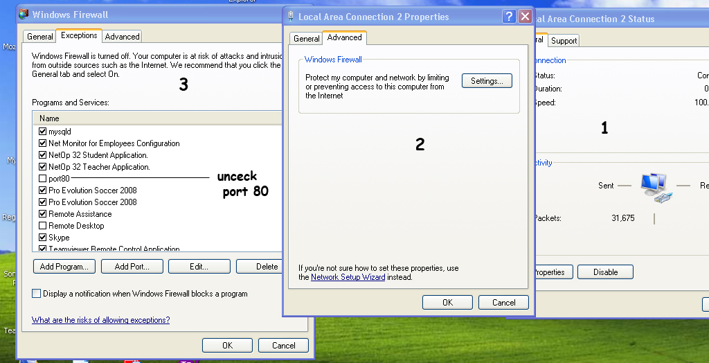 Error instal Xampp ?