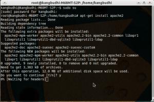 Instalasi webserver di ubuntu 11.04
