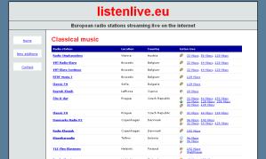 Mendengarkan radio music classic online