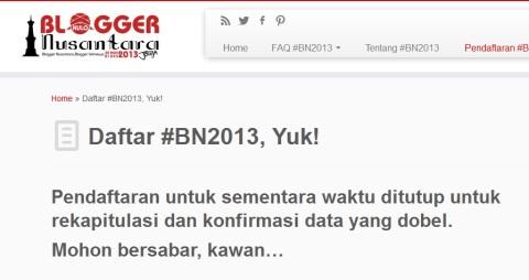 #BN2013