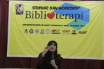 Oleh-oleh seminar dan workshop biblioterapi di UNS